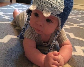 The Hippo Handmade Crochet Infant Toddler Child Teen Adult Hat