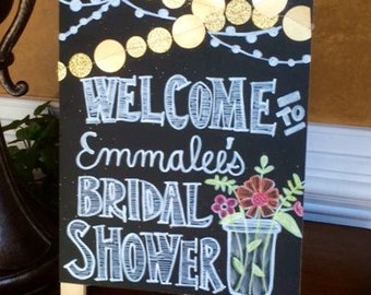 Welcome Bridal Shower Sign