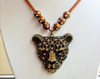 Cheetah / Leopard necklace