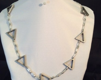 Necklace - Engineered Triangles