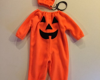 Pumpkin Costume kids toddler Halloween costume