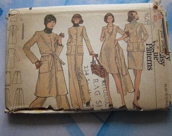 Vogue 8659 1973 Separates Sewing Pattern 18