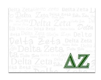 Delta Zeta Sticky Notes