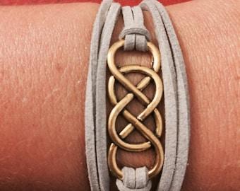 Double Infinity Wrap Bracelet