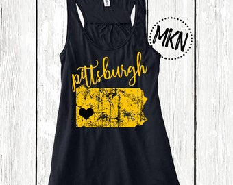 Pittsburgh Pirates - Pittsburgh Steelers - MLB Pirates - Women Pirates Shirts - Women Pirates - Tank Tops - Pirates Clothing - Pirate Tshirt