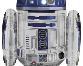 "R2D2 Balloon- 26""  Foil Balloon- Star Wars Party Decor"