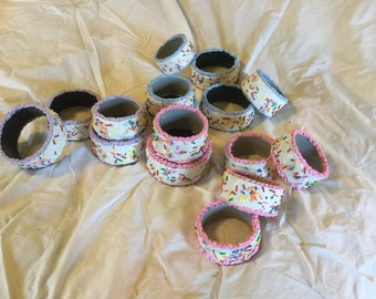 Cake Cuffs Sprinkle Bracelets