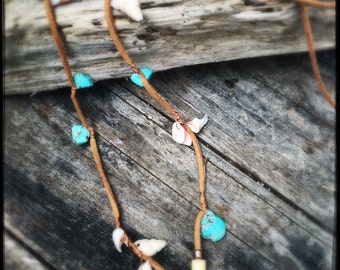 Coastal Aboriginal inspired necklace