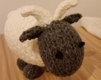 small knitted goat