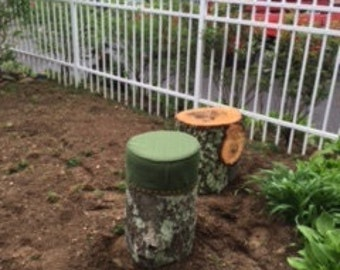 Upholstered Tree Stump Covers