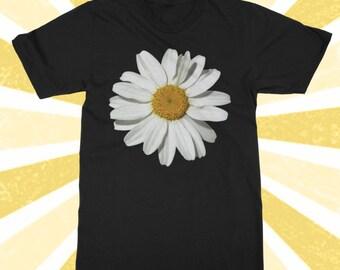 So cute Daisy Shirt - Flower Power - Flower child - Hippie - BOHO Top - Daisies - Hipster - 90's - Women's and Men's cotton t shirt