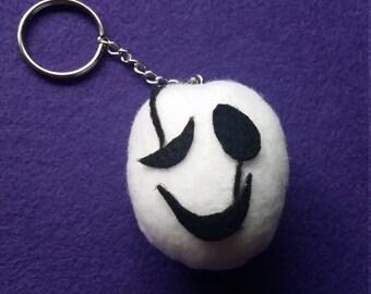 W. D. Gaster Plush Keychain (Undertale)