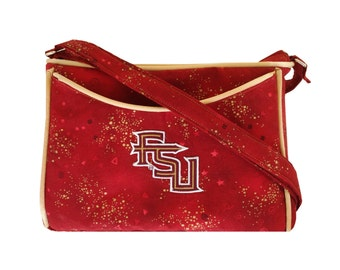 Florida State Seminoles Purse  FSU Crossbody and Shoulder Bag