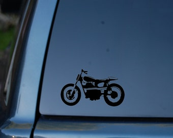 Vinyl Decal Cafe Racer Motorcycles