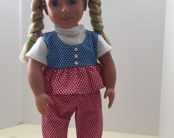 "3 piece outfit for 18"" doll"