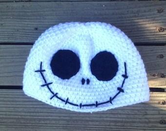 Jack Skellington Croheted Hat ~ Nightmare Before Christmas