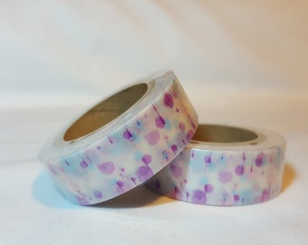 Washi Tape/ Craft Tape- Abstract Pink and Purple