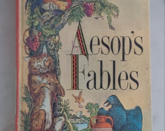 Aesop's Fables, Companion Library, Illustrations W. Kirtman Plummer