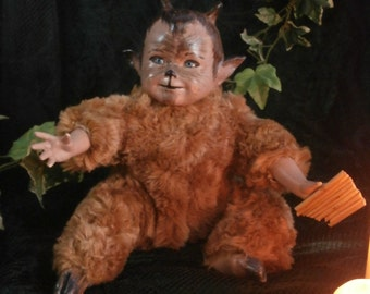 Baby Pan/Faun Shadow Doll