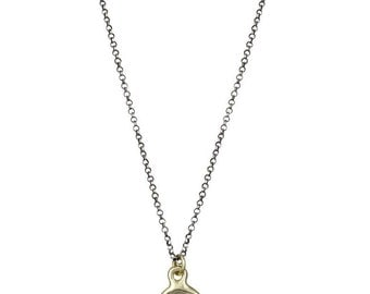 10kt Gold Elephant Wax Seal Necklace - I trust in myself- Trust Your Strength - 216-10K