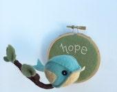 Bird on a Branch - Hope