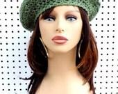 Easy Crochet Pattern Hat, Womens Crochet Hat Pattern, Crochet Beret Hat Pattern for Beginners, Womens Hat, Easy Beret Hat FRENCH ARTIST
