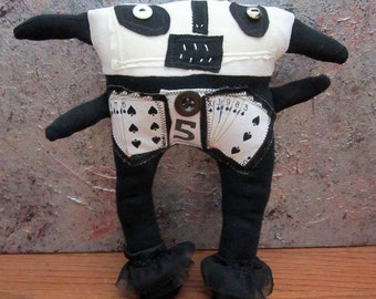 Primitive Folk Art Doll Abbott