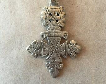 Ethiopian Coptic Cross  (Item # P40)