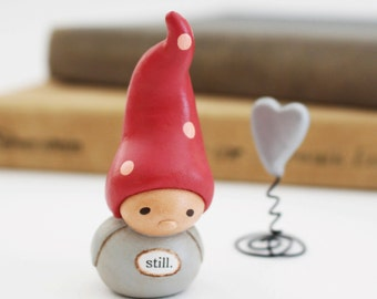 Wee Gnome and Heart. Still.