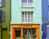 Skibbereen, Colorful Shop Front, Co. CORK, CLERKE, Irish Shop, Ireland Town, Quaint Street, Green House, Colourful Street,Ireland Photo Card