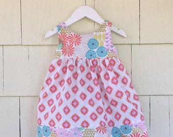 IN STOCK | Easter Delivery | Pocket Dress | Girls Spring Dress | Easter Dress | Floral Dress | Southwest Aztec | Pastel Metallic | Toddler