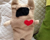 Claude ~ The French Bulldog Bummlie ~ Stuffing Free Dog Toy ~ Ready To Ship Today
