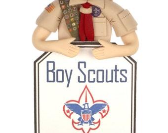 Basic Boy Scout Bust Ornament