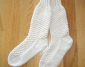 100 percent Mongolian CASHMERE Socks - Ultimate Luxury - Sinfully Soft - LAST Pair