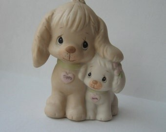 Puppy Love figurine 1988 Enesco Model 520764