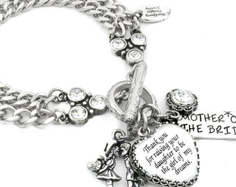 Mother of the Bride, Wedding Jewelry, Bridal Jewelry, Grooms Gift to Mother of the Bride, Wedding Gift to Mom