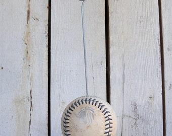 Softball Picture Frame Photo Holder 1- Repurposed