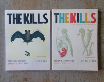 THE KILLS / Tour Poster Set