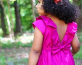 Pink Fuchsia Dress for Toddler and Girl
