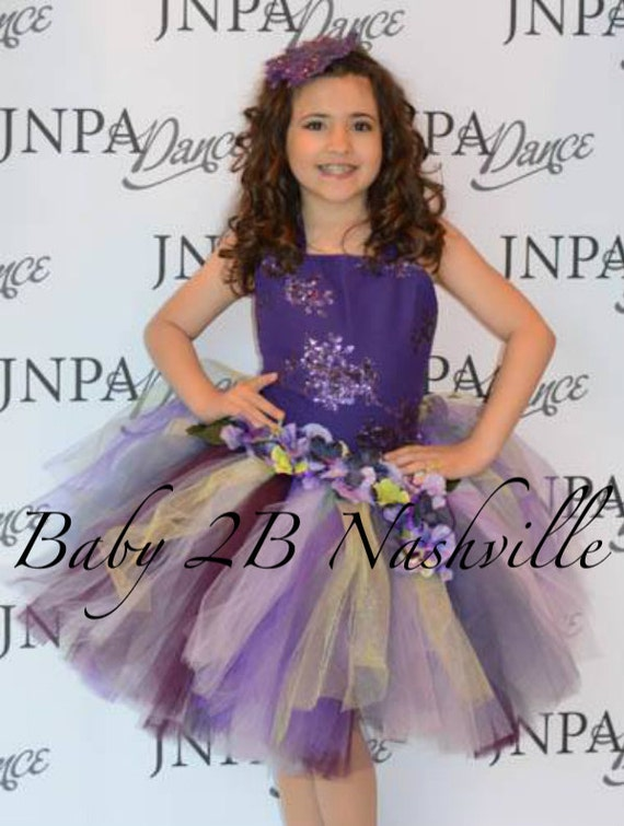 Purple Dress WoodlandFairy Dress Wedding Dress Flower Girl Dress Party Dress Birthday Dress Toddler Tutu Dress Girl Dress Purple Tulle Dress