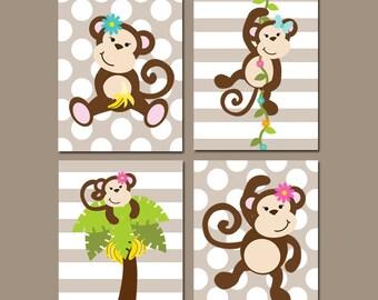 monkey bedroom