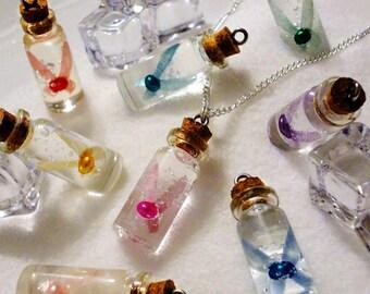 Zelda - Bottled Fairy Necklace