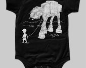 My AT-AT Pet Baby Bodysuit, funny star wars onesie, baby gift, baby shower gift, newborn gift, boy birthday, mommy and me