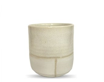 Handmade Ceramic Cup, whiskey cup, small tumbler, wine cup, tea cup, wheel thrown, cup, handmade cup, white glaze,