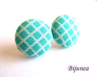 Blue earrings - Turquoise stud earrings - Turquoise posts - Turquoise studs - Blue turquoise post earrings sf1282