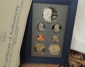 Reserved GB - 1993 US Mint Prestige Set, Bill of Rights Silver dollar & half, 7 coin proof set