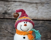 Needle Felted Snowman | felted wool snowmen  766