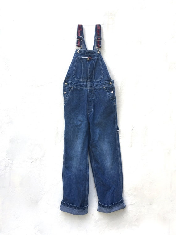 overalls tommy hilfiger 90 39 s overalls denim overall by. Black Bedroom Furniture Sets. Home Design Ideas