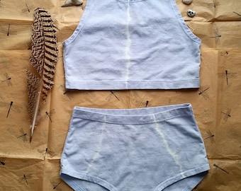 Higher Tie dyed set (stretch hemp)