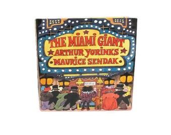 The Miami Giant - Maurice Sendak - Arthur Yorinks - 1995 first edition